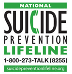 The National Suicide Prevention Lifeline Logo